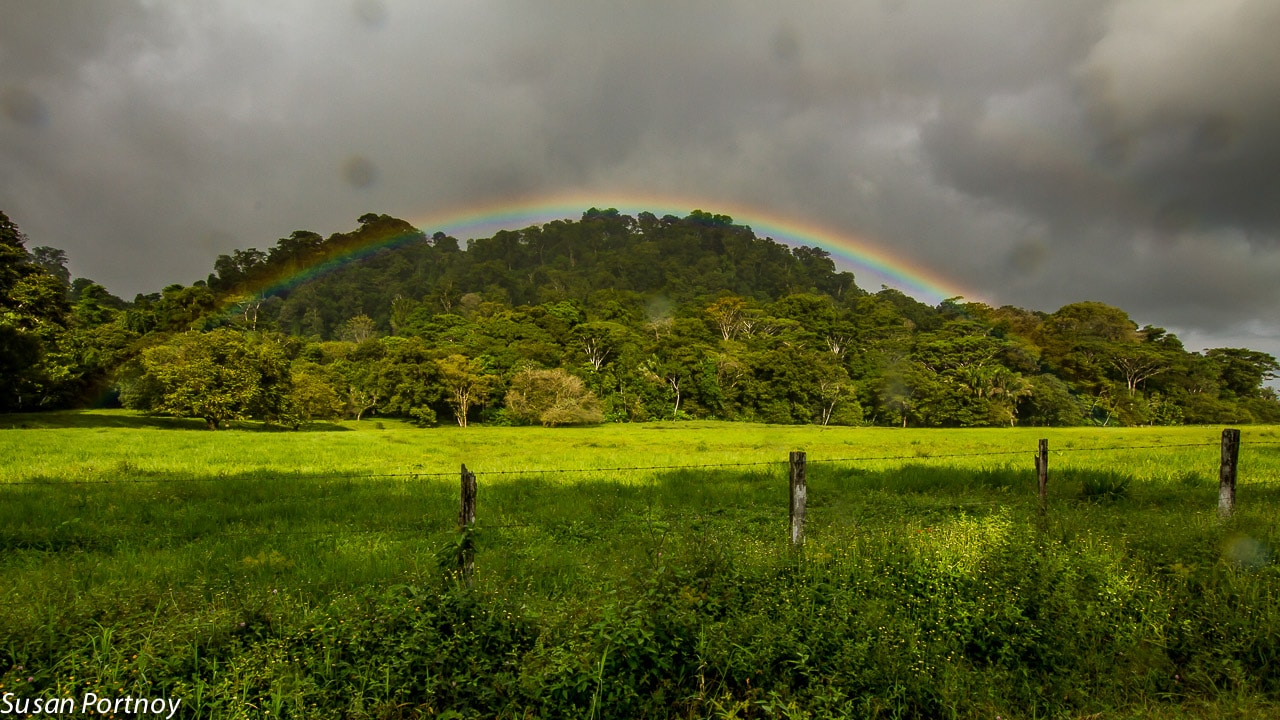 Rainbow in Costa Rica