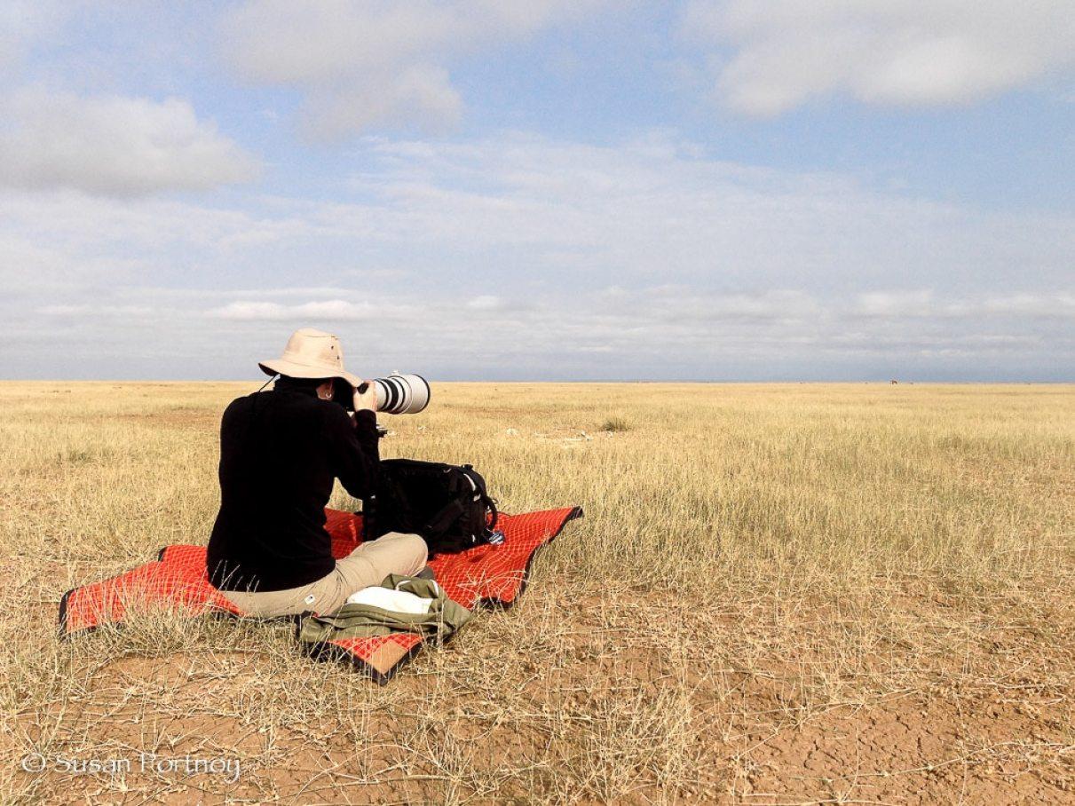 Susan Portnoy The Insatiable Traveler on Lake Amboseli, Kenya