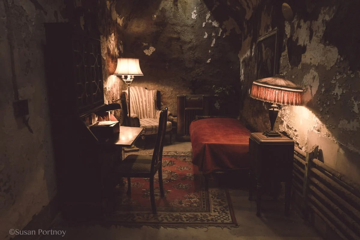 Al Capone's Cell in Eastern State Penitentiary