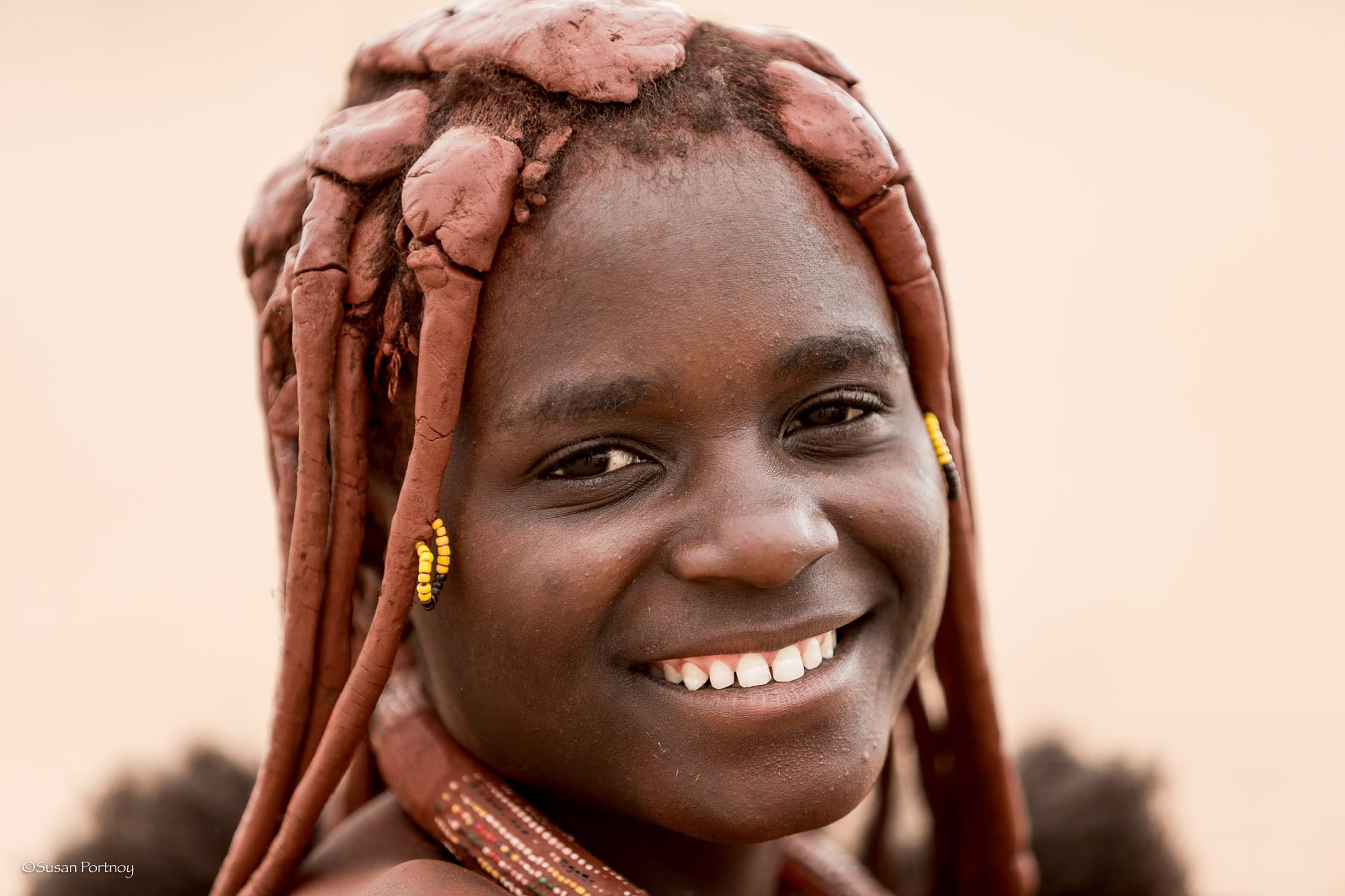 Young Himba girl in Namibia