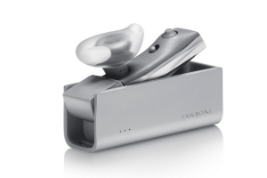 Jawbone ERA headset and charging cradle
