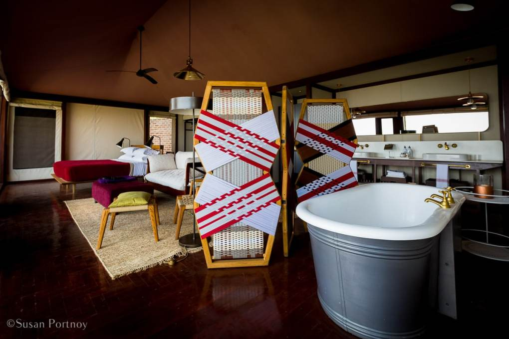 Angama Mara interior of a luxury Tent - Kenya Safari Lodges with Spectacular Views -8202
