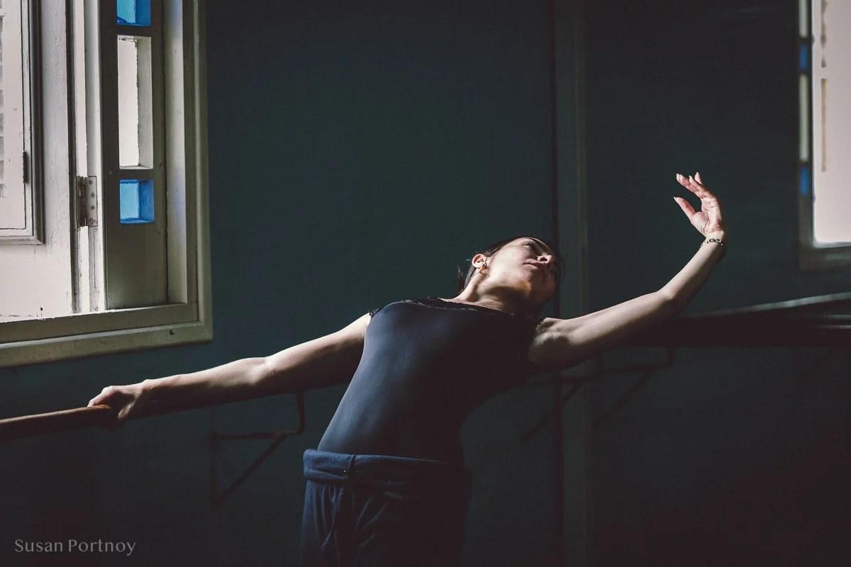 Ballet dancer at the Cuban National Ballet