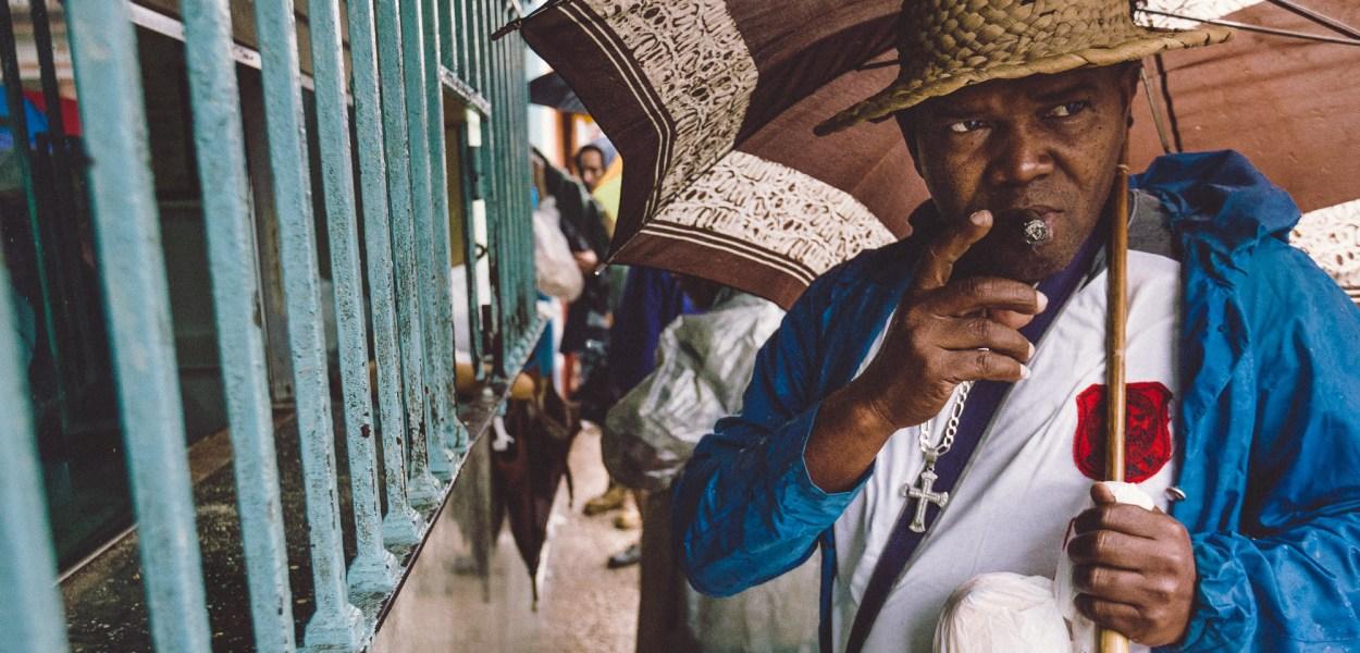 Male teenager in Bejucal, Cuba