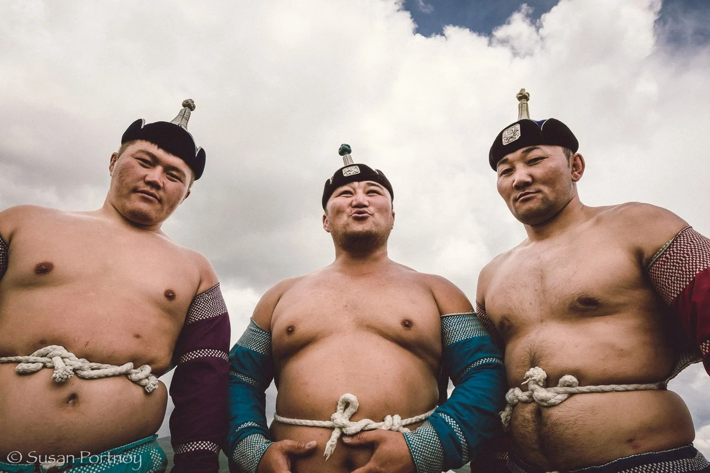 Three Wrestlers: Scenes from a Kazakh wedding in Mongolia -