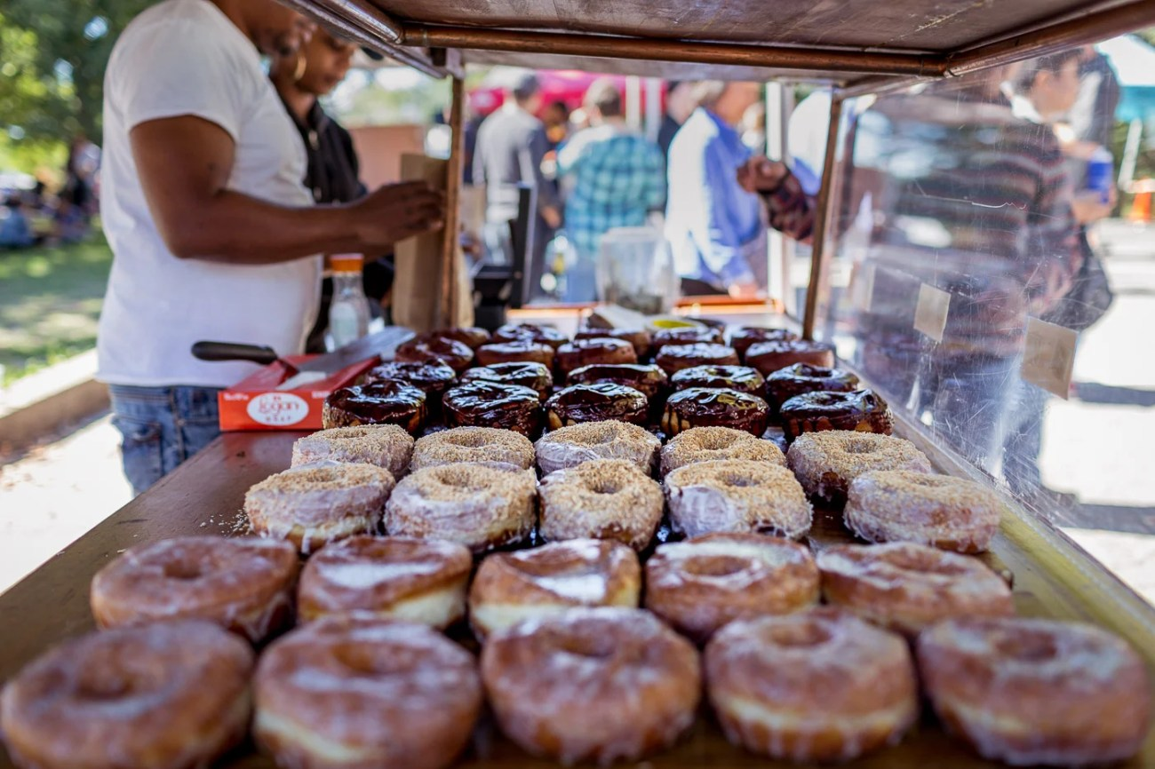 Donuts from Dough at Brooklyn's Smorgasburg -The Insatiable Traveler