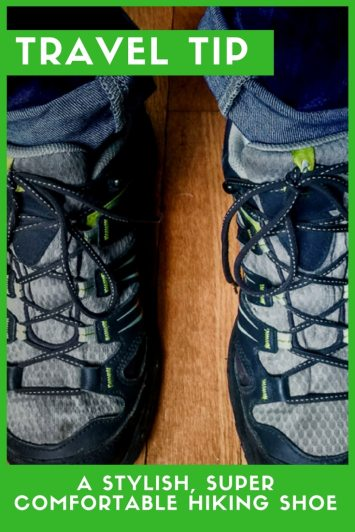 Travel tip- A Stylish, Super Comfortable Hiking Shoe