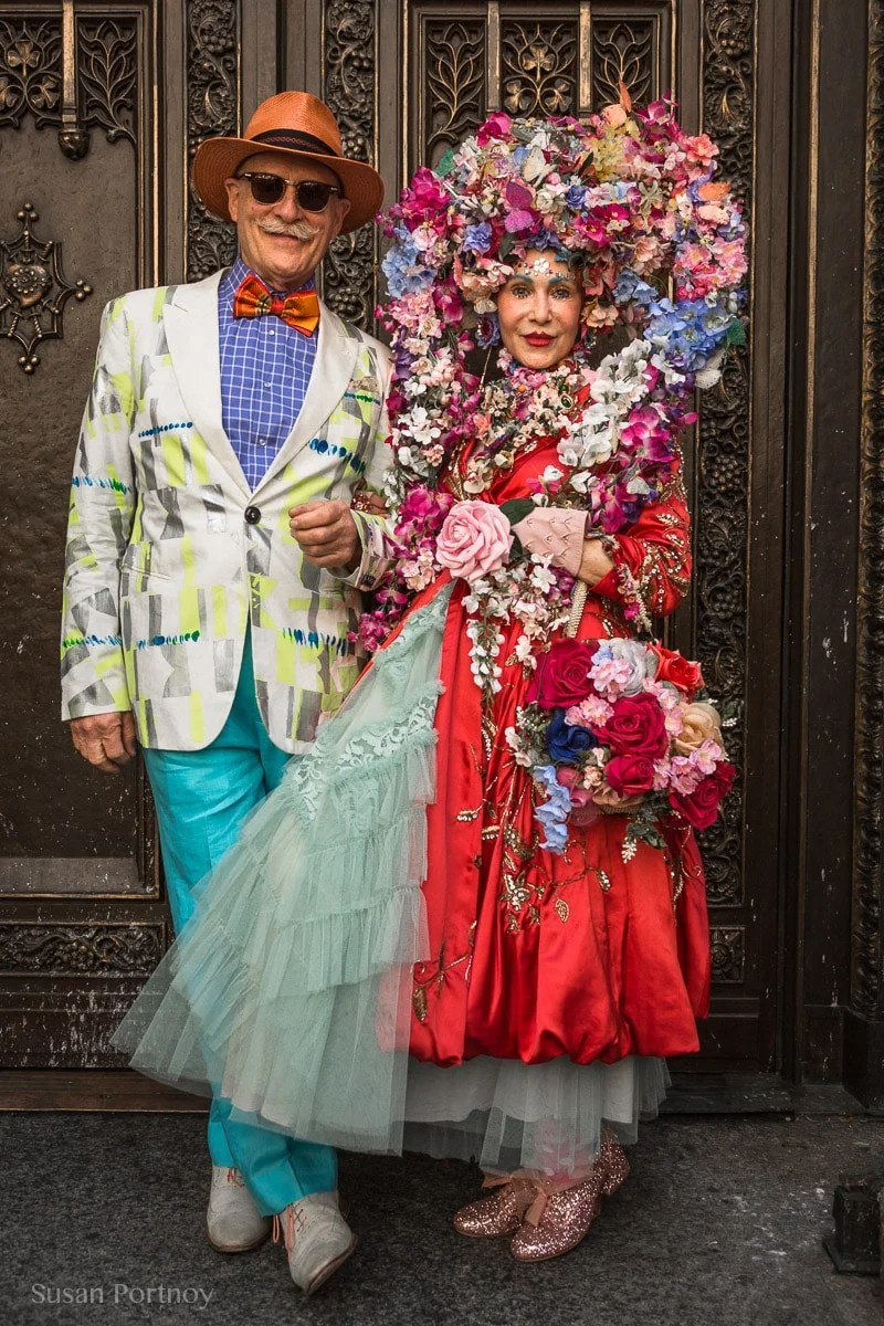 Patricia Fox and Howard Chavez at the 2017 Easter Parade and Easter Bonnet FestivalEaster Parade 2017-_MG_082020170417