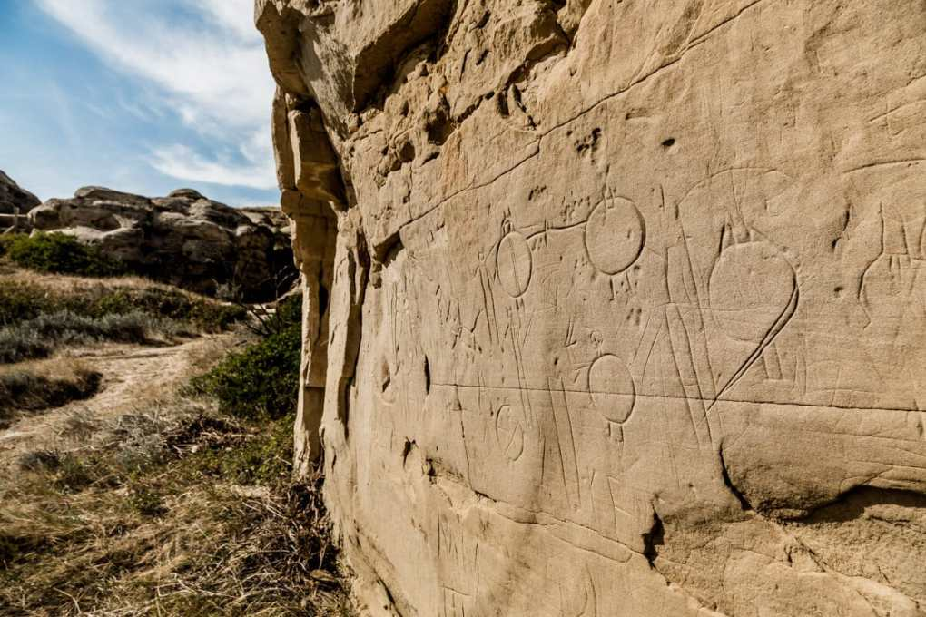 Writing on Stone Petroglyphs --10 Amazing Canadian Views You'll Never Forget_-4315 (1)
