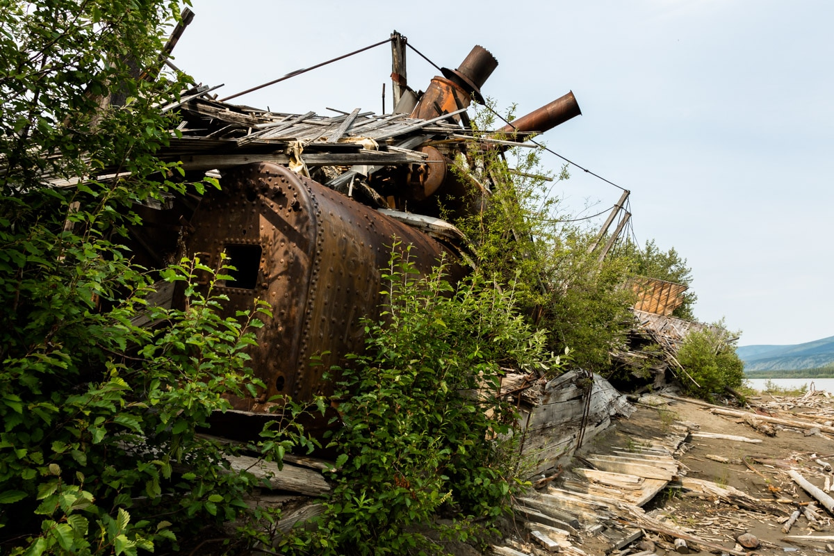 Exploring the Yukon's Mysterious Sternwheeler Graveyard