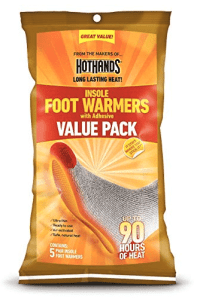 Hothands Insole Foot Warmer -Individually Packed - 10 pairs