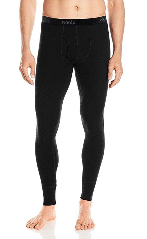 Woolx Men's Merino Wool Base Layer Bottoms - Heavyweight