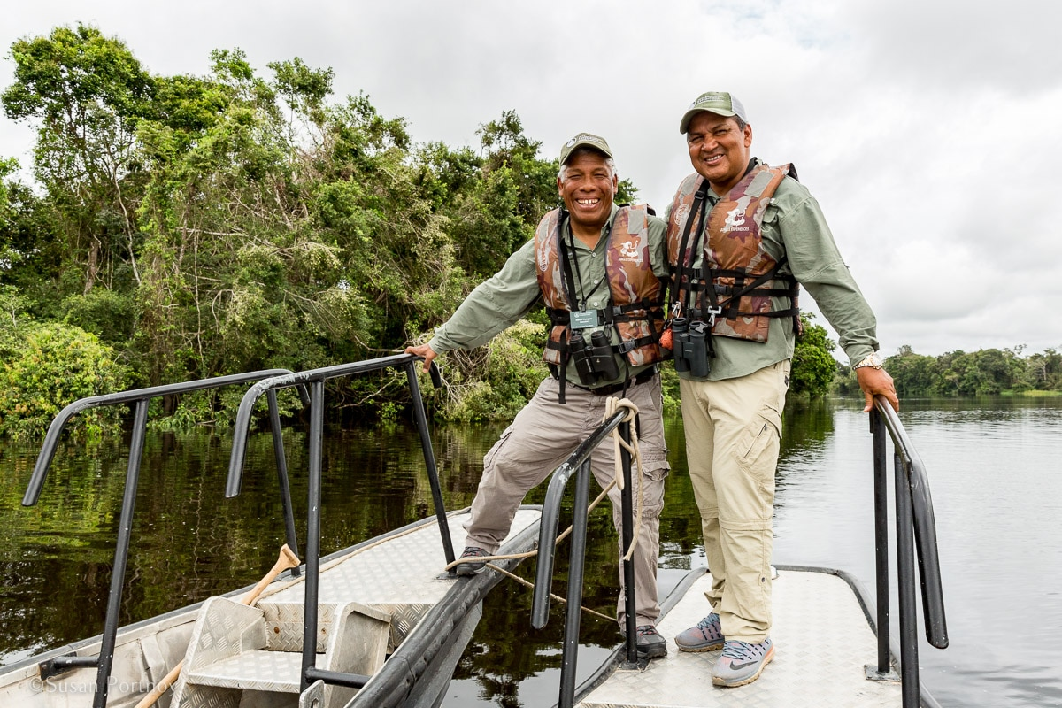 Daniel Vasquez and Juan Tejada, Peruvian naturalists | Amazon River Cruise Peru -International Expeditions-01-2