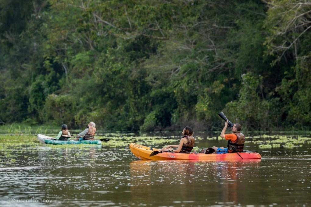 River Kayaking | Amazon River Cruise Peru -International Expeditions-01