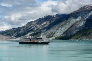 The Eurodam in Glacier Bay - The Truth about Holland America's Alaska Land and Sea Adventure -39792018060501