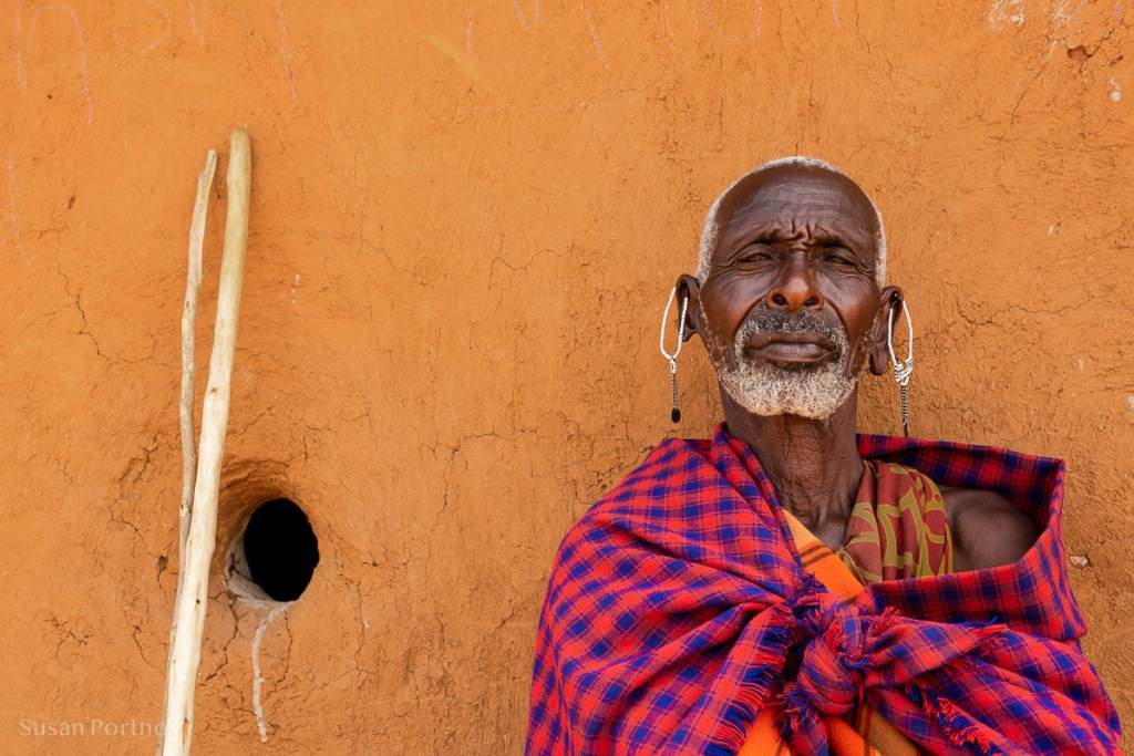 A Maasai elder - How to Experience More Beyond Kenya's Big Five -8533