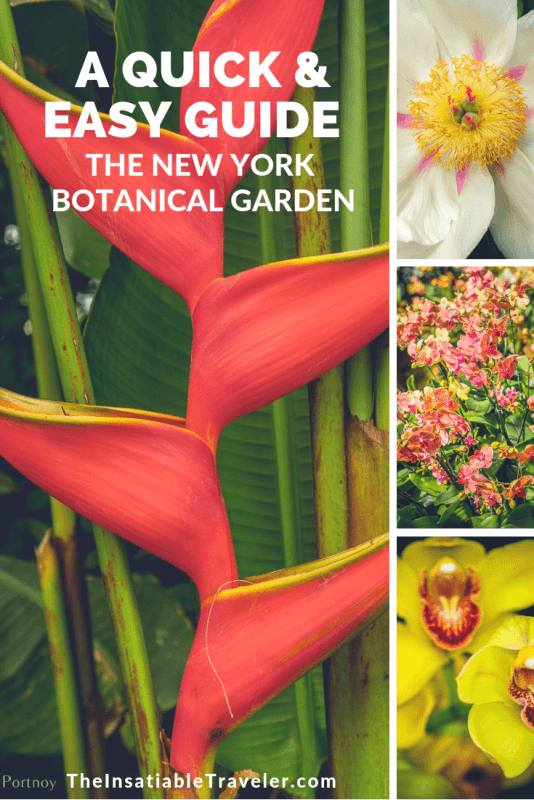 Quick and easy guide to New York Botannical Garden