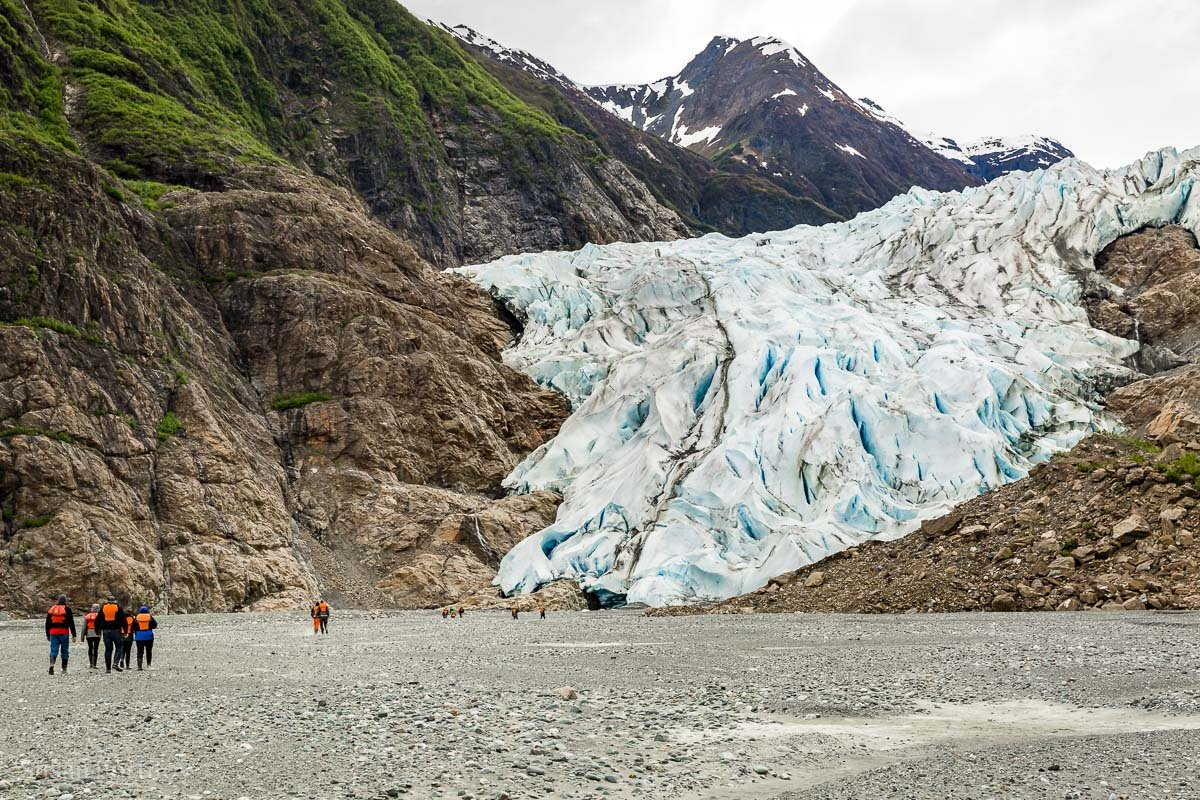 Davidson Glacier near Haines - Holland Amercia Alaska Cruise