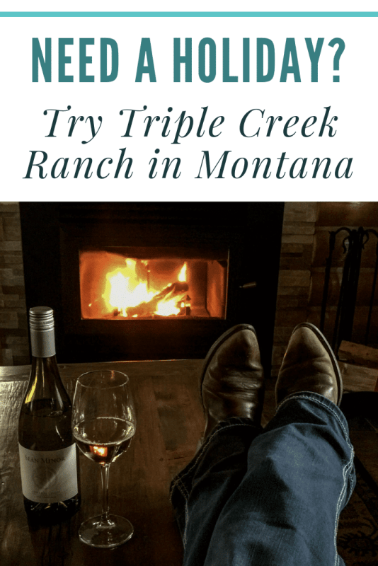 Treat yourself. Triple Creek Ranch offers guests luxury accommodations, amazing outdoor activities, great food, and gorgeous Montana landscapes.  #TripleCreekRanch #GuestRanch #Montana #DarbyMontana #TripleCreekRanchMontana