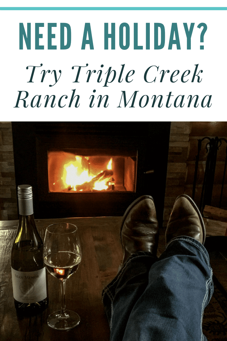 Treat yourself. Triple Creek Ranch offers guests luxury accommodations, amazing outdoor activities, great food, and gorgeous Montana landscapes.