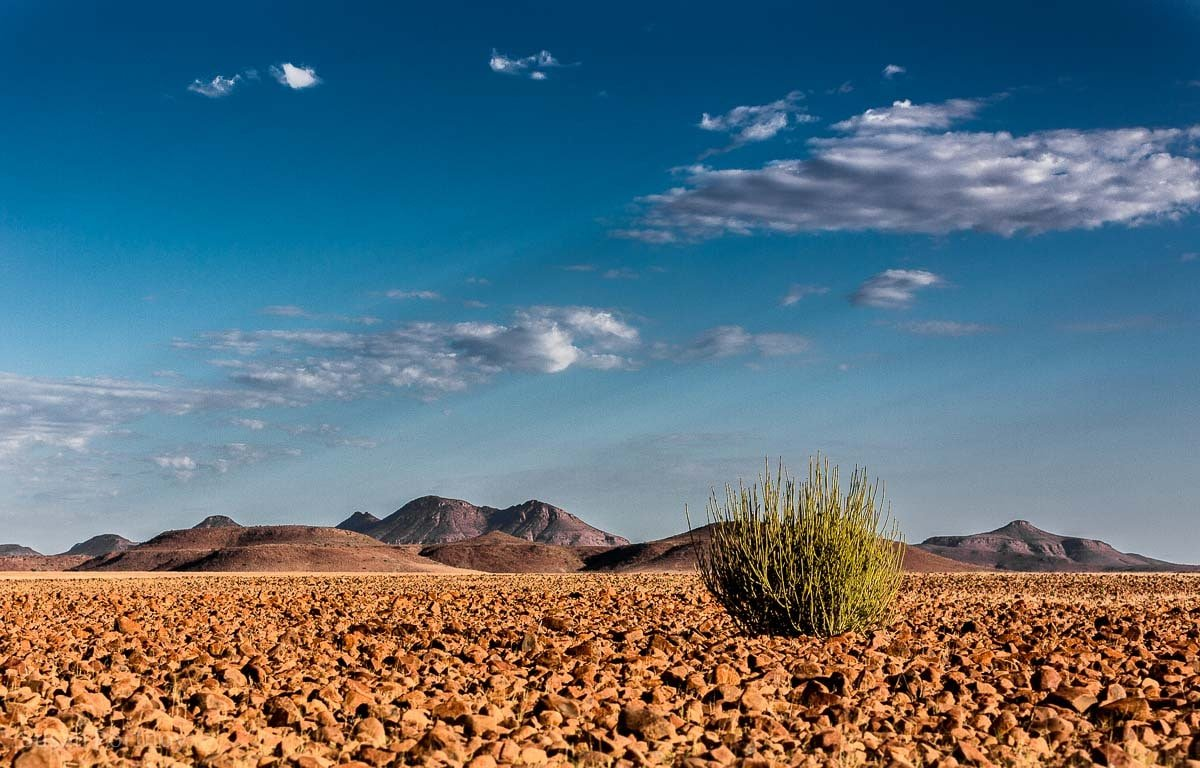 Red rock Landscape of Damaraland, Namibia