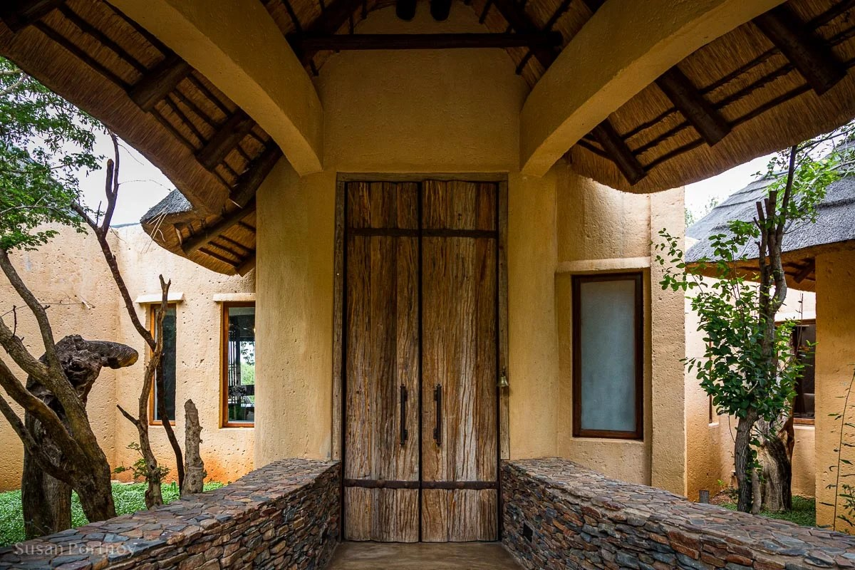 The Game of Throne-esque doors of my villa