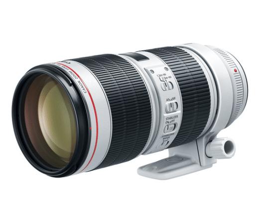 70-200 mm lens