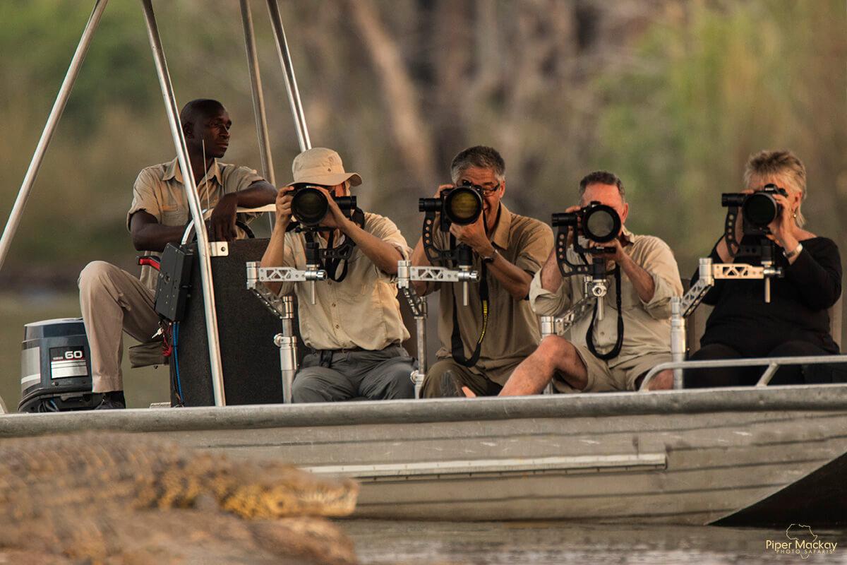 Photographers in Botswana