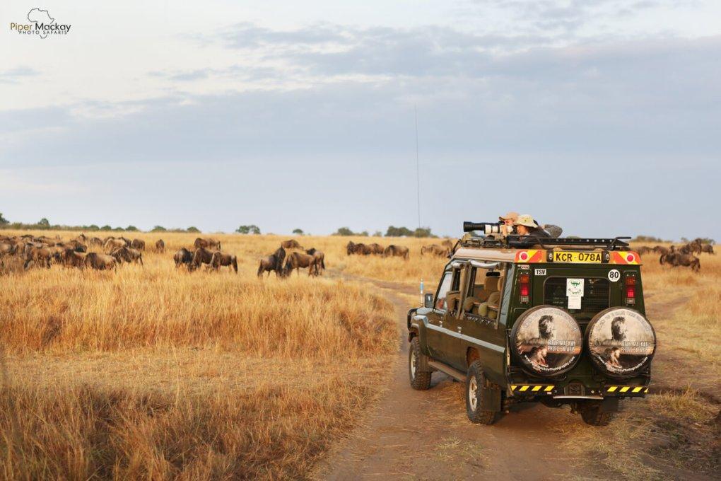 Jeep in Kenya