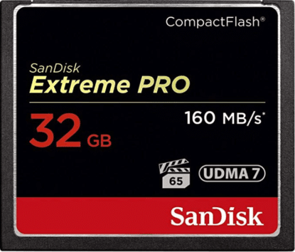 Extreme Pro 32 mg Memory card