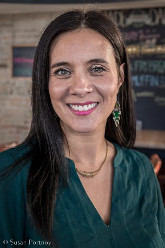 Feast restaurant owner Christa Bruneau- Guenther