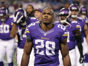 Adrian Peterson wants to play for the Giants