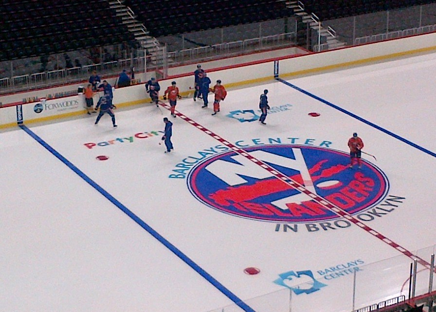 New York Islanders Nassau Coliseum