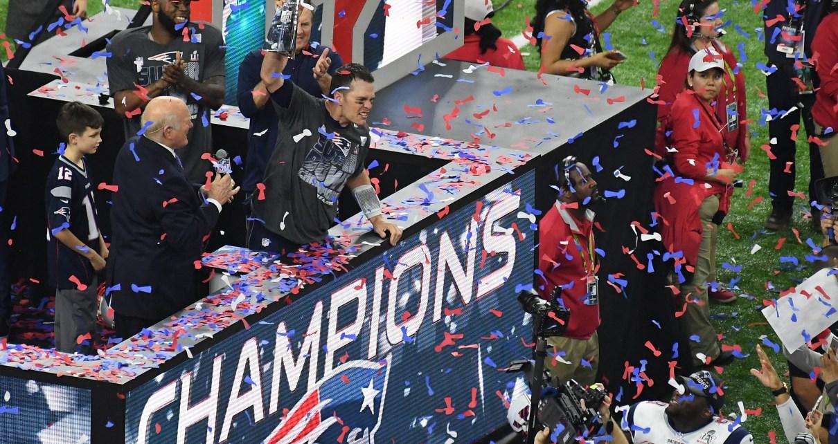 New England Patriots Super Bowl LI Champions