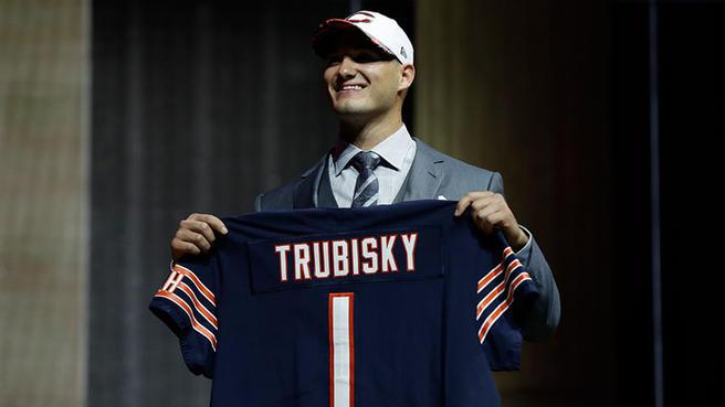 Mitchell Trubisky Chicago Bears