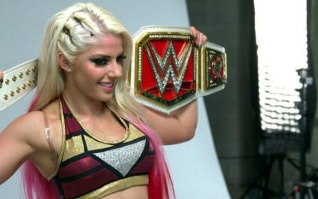 WWE Monday Night Raw Women's Champ Alexa Bliss
