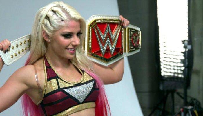 WWE Monday Night Raw Women's Champ Alexa Bliss
