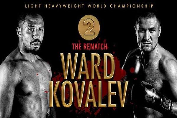 Andre Ward vs Sergey Kovalev