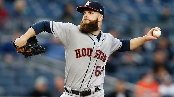 Dallas Keuchel Houston Astros pitcher