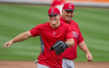 Mike Trout Aaron Judge AL MVP