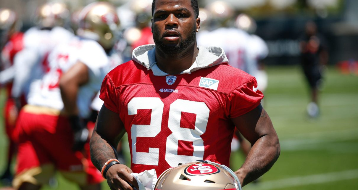 Carlos Hyde RB San Francisco 49ers