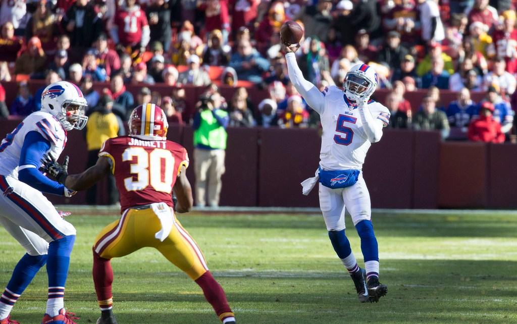 Tyrod Taylor QB Buffalo Bills