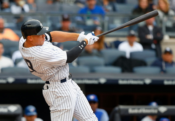 Aaron Judge (Sept. 30, 2017 - Source: Jim McIsaac/Getty Images North America)