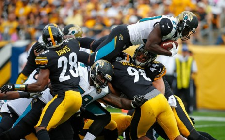 Leonard Fournette (Oct. 8, 2017 - Source: Justin K. Aller/Getty Images North America)