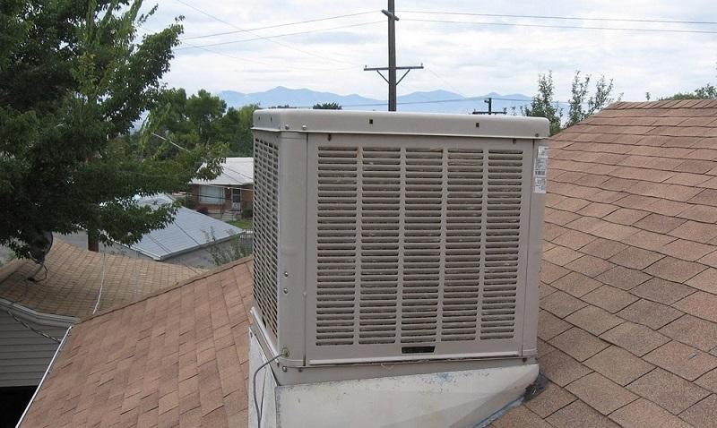 Evaporative-cooler