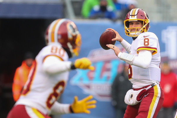 Kirk Cousins (Dec. 31, 2017 - Source: Ed Mulholland/Getty Images North America)