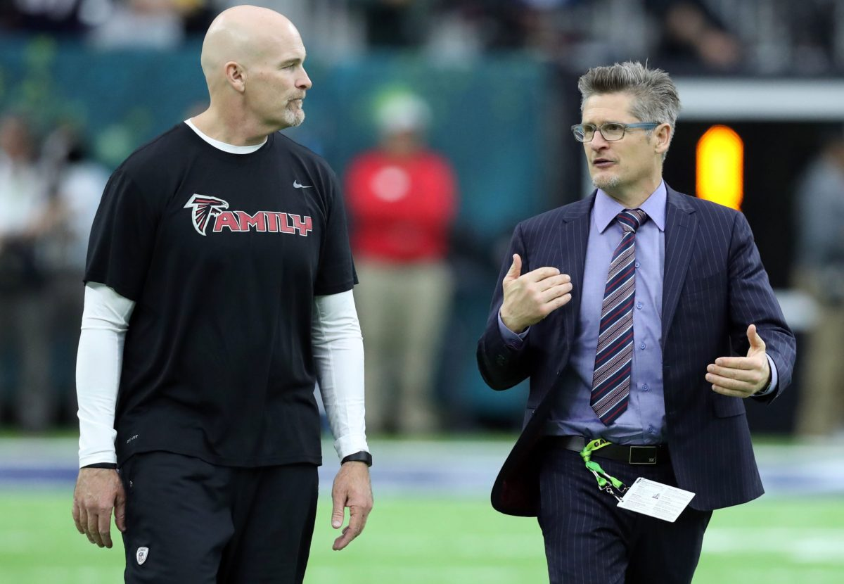 Atlanta Falcons GM Thomas Dimitroff Could Trade the 26th Pick in the NFL Draft
