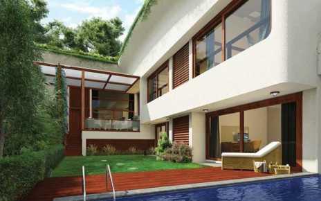 painting a villa