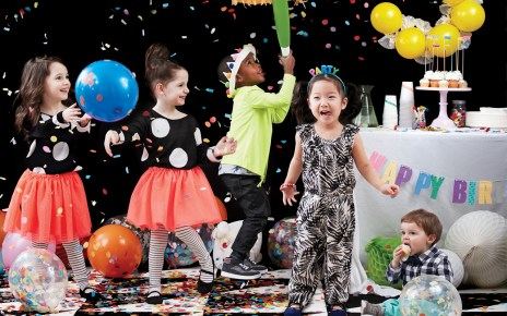 Organise a party for children