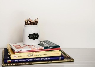 Decorate With Books in Your Apartment Decor